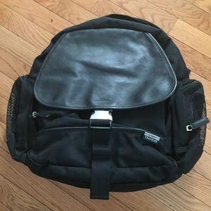 💋 LL BEAN Travelers NWOT XL Black laptop+backpack